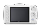 Nikon Coolpix S33 Digital Camera White, discontinued, Nikon - Pictureline  - 2