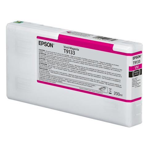 Epson T913300 P5000 Ultrachrome HD Ink 200ml Magenta, papers printer ink, Epson - Pictureline