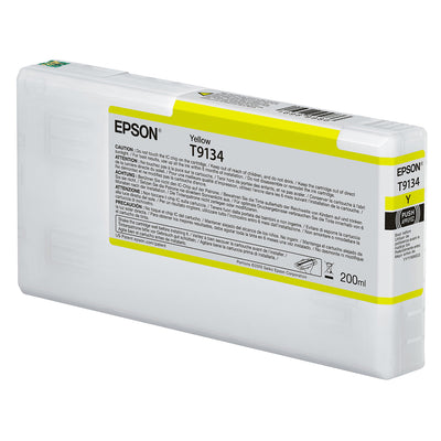 Epson T913400 P5000 Ultrachrome HD Ink 200ml Yellow, papers printer ink, Epson - Pictureline