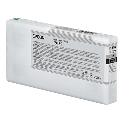 Epson T913900 P5000 Ultrachrome HD Ink 200ml Light Light Black, papers printer ink, Epson - Pictureline