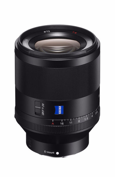 Sony FE 50mm f1.4 Planar T* ZA Lens, lenses mirrorless, Sony - Pictureline  - 1