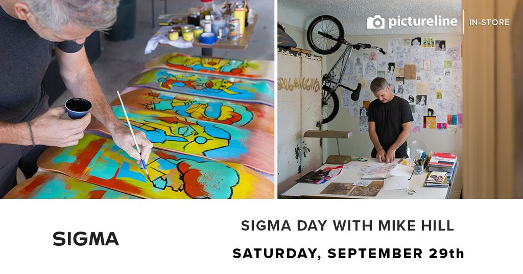 Sigma Day with Mike Hill, September 29th (Saturday)