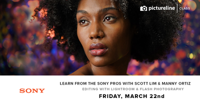Learn from the Sony Pros: Editing with Lightroom & Flash Photography (March 22nd, Friday)