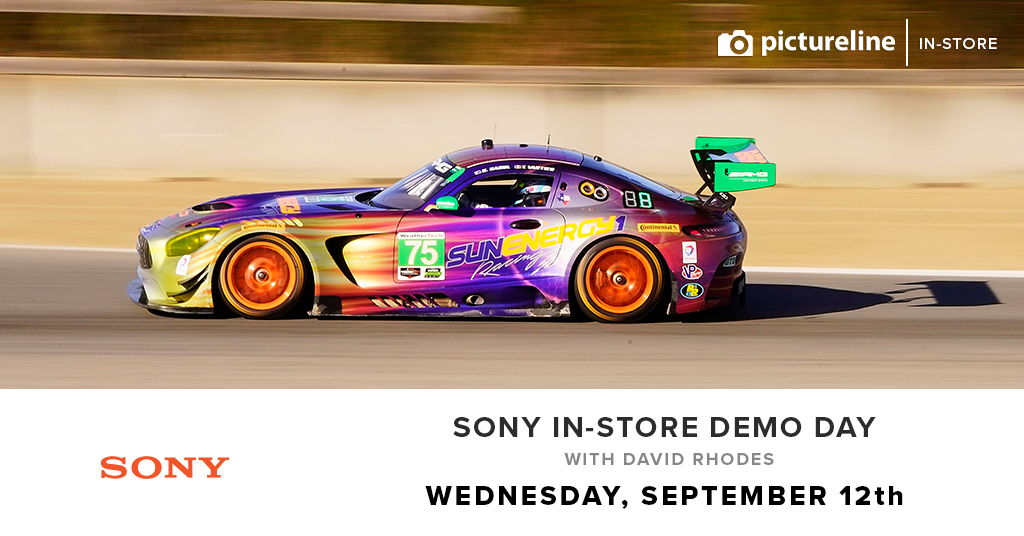 Sony In-Store Demo Day with Rob Shelley and David Rhodes (September 12th, Wednesday)