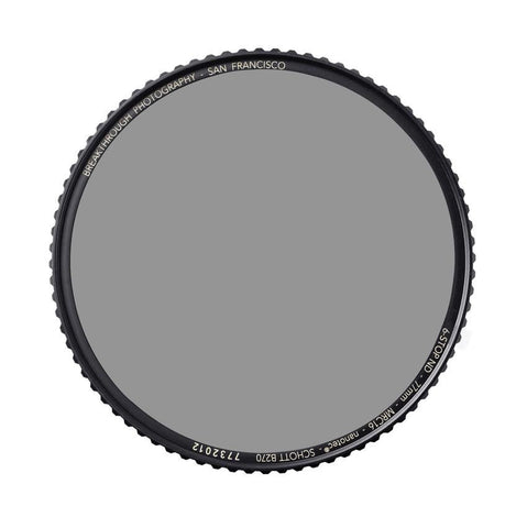 Breakthrough Photography 77mm X4 Neutral Density 4.5 Filter (15 Stop)