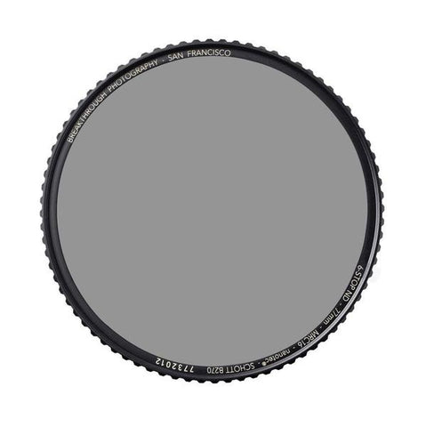 Breakthrough Photography 72mm X4 Neutral Density 0.9 Filter (3 Stop)
