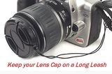 Dot Line 43mm Lens Cap w/ Leash, camera accessories, Dot Line - Pictureline  - 4