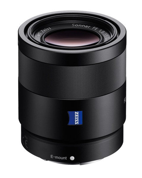 Sony FE 55mm f1.8 Sonnar T* ZA Lens, lenses mirrorless, Sony - Pictureline  - 1