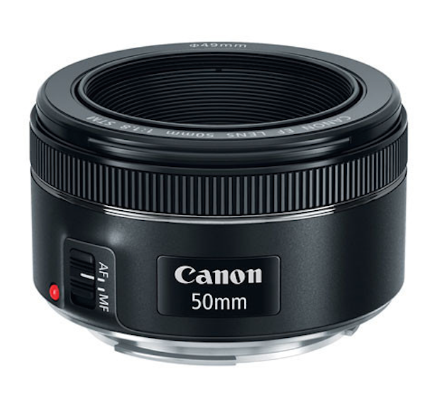 The Canon 50mm F1.8 lens at pictureline
