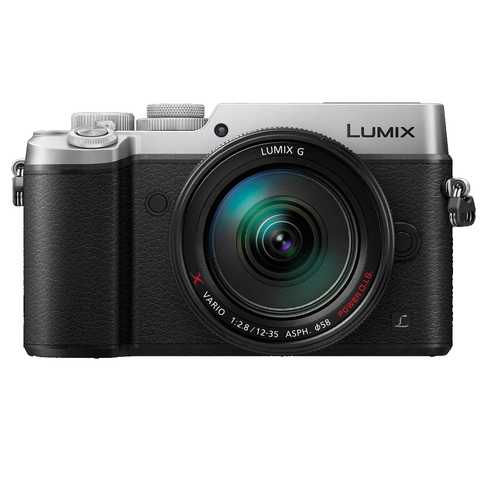 Panasonic Lumix DMC-GX8 Micro Four Thirds Digital Camera Body Only (Silver), camera mirrorless cameras, Panasonic - Pictureline