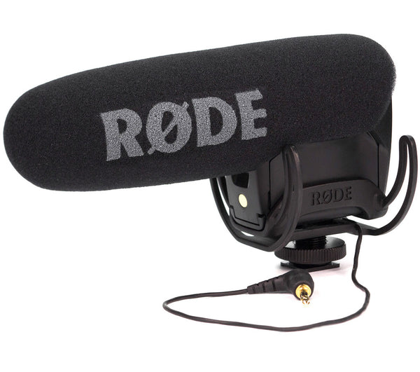 RODE VideoMic Pro with Rycote Lyre Suspension Mount, video audio microphones & recorders, RODE - Pictureline  - 1