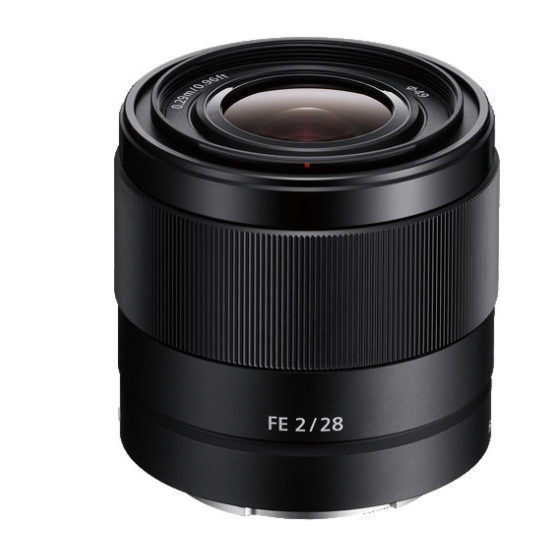 Sony FE 28mm f/2 Lens, lenses mirrorless, Sony - Pictureline