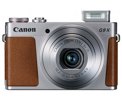 Canon PowerShot G9 X Kit (Silver), camera point & shoot cameras, Canon - Pictureline  - 1