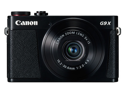 Canon PowerShot G9 X Kit (Black), camera point & shoot cameras, Canon - Pictureline  - 1