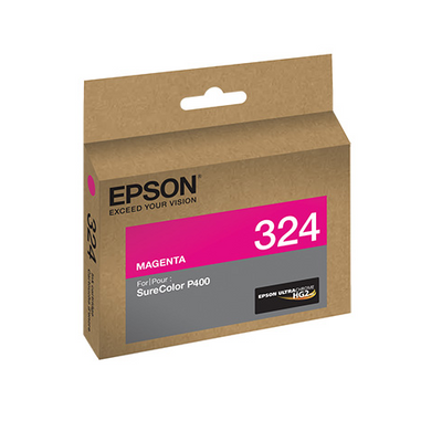 Epson T324320 P400 Magenta UltraChrome HG2 Ink Cartridge, printers ink small format, Epson - Pictureline