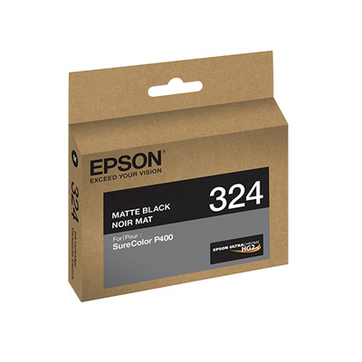 Epson T324820 P400 Matte Black UltraChrome HG2 Ink Cartridge, printers ink small format, Epson - Pictureline