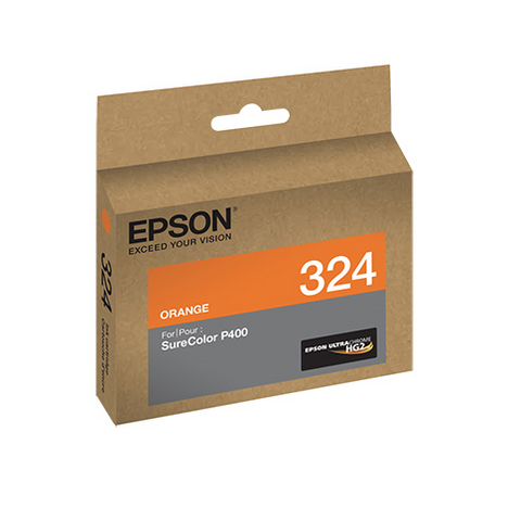 Epson T324920 P400 Orange UltraChrome HG2 Ink Cartridge, printers ink small format, Epson - Pictureline