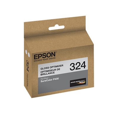 Epson T324020 P400 Gloss Optimizer UltraChrome HG2 Ink Cartridge (2-pack), printers ink small format, Epson - Pictureline