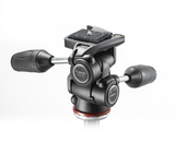 Manfrotto MH804 3 Way Head w/RC2 and retractable levers, tripods 3-way heads, Manfrotto - Pictureline  - 3