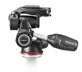 Manfrotto MH804 3 Way Head w/RC2 and retractable levers, tripods 3-way heads, Manfrotto - Pictureline  - 2