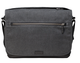 Tenba Cooper 15 Gray Canvas/Black Leather Luxury Bag, bags shoulder bags, Tenba - Pictureline  - 6