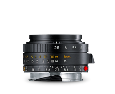 Leica 28mm f/2.8 Wide Angle Elmarit-M Aspherical Manual Focus Lens (6-Bit, Updated for Digital), lenses mirrorless, Leica - Pictureline  - 1