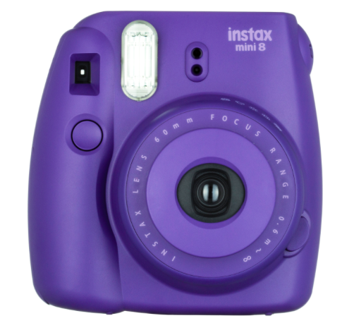 Fujifilm INSTAX Mini 8 Instant Film Camera (Grape), camera film cameras, Fujifilm - Pictureline