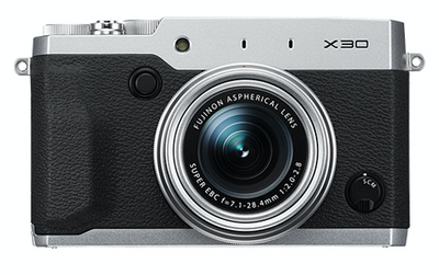 Fujifilm X30 Digital Camera Silver, camera point & shoot cameras, Fujifilm - Pictureline  - 1