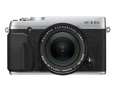 Fujifilm X-E2s Digital Camera w/XF 18-55mm Lens Kit (Silver), camera mirrorless cameras, Fujifilm - Pictureline  - 1