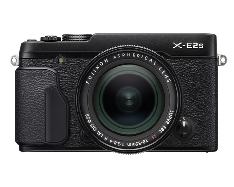 Fujifilm X-E2s Digital Camera w/XF 18-55mm Lens Kit (Black), camera mirrorless cameras, Fujifilm - Pictureline  - 1