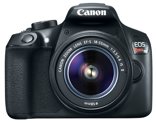 Canon EOS Rebel T6 18-55mm IS II Kit (Black), camera dslr cameras, Canon - Pictureline  - 1