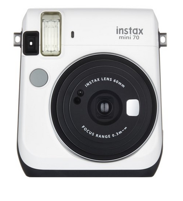 Fujifilm INSTAX Mini 70 Instant Film Camera (Moon White), camera film cameras, Fujifilm - Pictureline  - 1