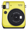 Fujifilm INSTAX Mini 70 Instant Film Camera (Canary Yellow), camera film cameras, Fujifilm - Pictureline  - 1