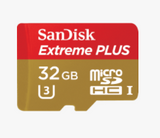 SanDisk Extreme Plus 32GB microSDHC Memory Card 95 MB/s, camera memory cards, SanDisk - Pictureline  - 2