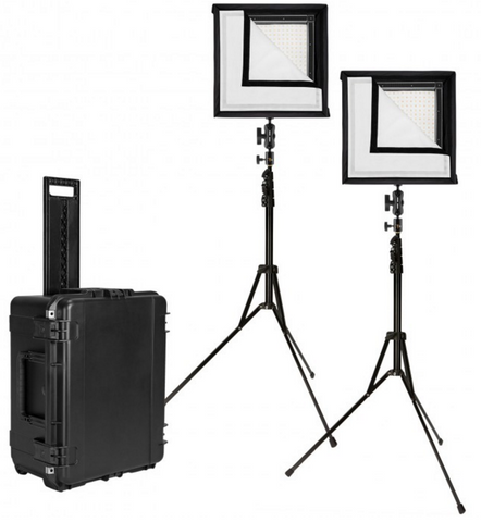 Westcott Flex 1' x 1' Bi-Color 2-Light Cine Studio Kit