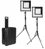 Westcott Flex 1' x 1' Daylight 2-Light Cine Studio Kit