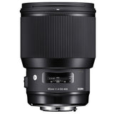 Sigma 85mm F1.4 ART DG HSM Lens for Canon, lenses slr lenses, Sigma - Pictureline  - 1