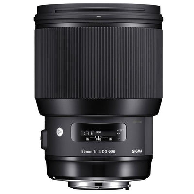 Sigma 85mm F1.4 ART DG HSM Lens for Nikon, lenses slr lenses, Sigma - Pictureline  - 1