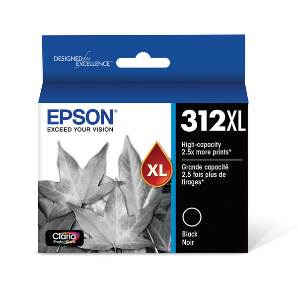 Epson T312XL120 Black Ink Cartridge for XP-8500 & XP-15000 (312XL)