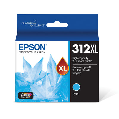 Epson T312XL220 Cyan Ink Cartridge for XP-8500 & XP-15000 (312XL)
