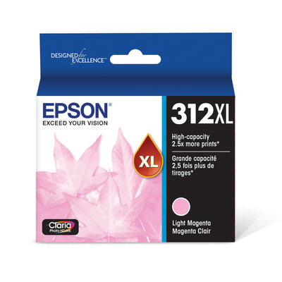 Epson T312XL620 Light Magenta Ink Cartridge for XP-8500 (312XL)