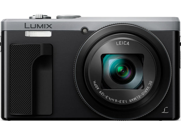 Panasonic Lumix DMC-ZS60 Digital Camera (Silver), camera point & shoot cameras, Panasonic - Pictureline  - 1