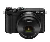 Nikon 1 J5 Digital Camera with 10-30mm Lens Black, camera mirrorless cameras, Nikon - Pictureline  - 4