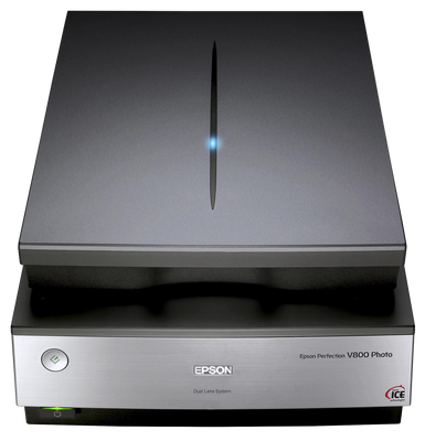 Epson Perfection V800 Photo Scanner, computers flatbed scanners, Epson - Pictureline  - 1