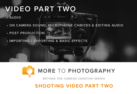 Shooting Video with DSLR Part 2 (June 30th, Saturday)