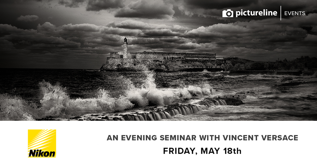 An Evening Seminar with Vincent Versace (May 18th, Friday)