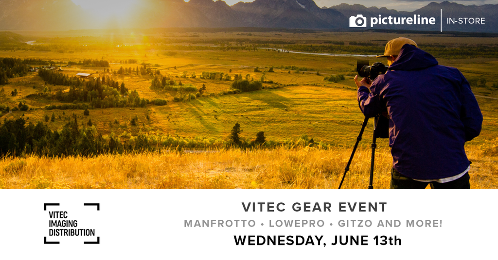 Vitec Gear Event with Robert Moody (June 13th, Wednesday)