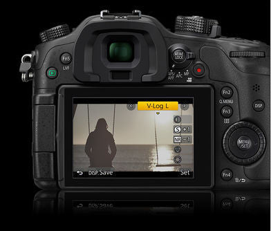 Panasonic V-Log L Function Activation Code for Lumix DMC-GH4, camera mirrorless cameras, Panasonic - Pictureline  - 1