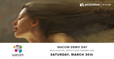 Events: Wacom Demo Day with Digital Artist Don Seegmiller (March 30th, Saturday)