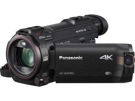 Panasonic HC-WXF991K 4K Ultra HD Camcorder with Twin Camera, video camcorders, Panasonic - Pictureline  - 1